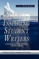 download ebook inspiring student writers pdf epub