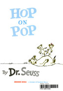 Hop on Pop Book Cover
