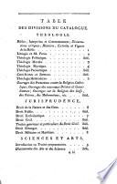 Catalogue des livres de la bibliothèque du C.*** (Claret de Fleurieu) Dont la Vente se fera en la Maison d'Agence et de Commerce des Citoyens Mauger, Amelot et Hubert... le tridi 23 Prairial an VI et jours suivans (11 juin-14 juillet 1798)...