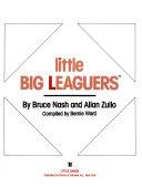 BASEBALL CARD BOOK  LITTLE BIG LEAGUERS