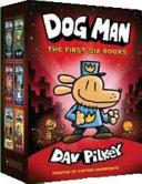 Dog Man 1 6 Hb Boxed Set