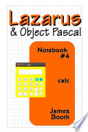 Lazarus   Object Pascal Notebook  4