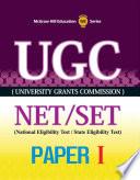 UGC NET SET Paper 1