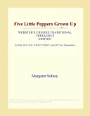 Five Little Peppers Grown Up  Webster s Chinese Traditional Thesaurus Edition