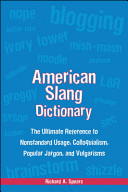 American Slang Dictionary  Fourth Edition