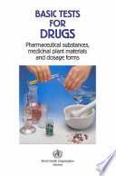 Basic Tests for Drugs