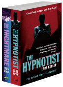 Joona Linna Crime Series Books 1 and 2: The Hypnotist, The Nightmare Linna Series By Lars Kepler Including An