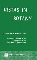 download ebook vistas in botany pdf epub