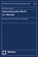Internationales Recht im Wandel