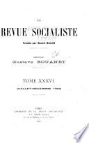 La revue socialiste