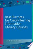 Best Practices For Credit Bearing Information Literacy Courses book