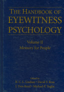 Handbook of Eyewitness Psychology Book PDF
