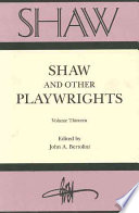 Shaw and Other Playwrights