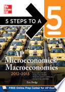 5 Steps To A 5 Ap Microeconomics Macroeconomics With Cd Rom 2012 2013 Edition