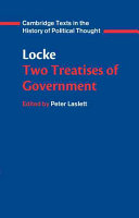 Locke: Two Treatises of Government Student Edition