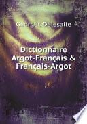 Dictionnaire Argot Fran ais   Fran ais Argot
