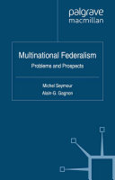 Multinational Federalism
