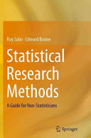 Statistical Research Methods