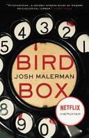 Bird Box-book cover