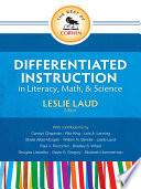 The Best of Corwin  Differentiated Instruction in Literacy  Math  and Science