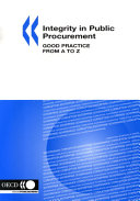 Integrity in Public Procurement Good Practice from A to Z