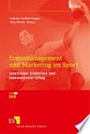 Eventmanagement und Marketing im Sport
