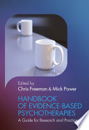 Handbook of Evidence-based Psychotherapies Handbook Of Evidence Based Psychotherapies Handbook Provides