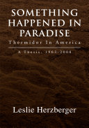 download ebook something happened in paradise: thermidor in america pdf epub