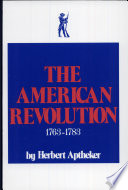 The American Revolution, 1763-1783 Of Slavery; Military And World Aspects