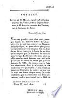 Lettre à M. Langlès sur le carnaval de Rome