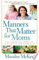 Manners That Matter for Moms