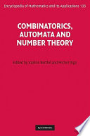 Combinatorics  Automata and Number Theory