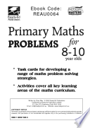Primary Maths Problems for 8 to 10 Year Olds