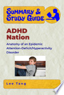 Summary Study Guide Adhd Nation