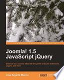 Joomla 1 5 Javascript Jquery