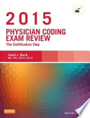 Physician Coding Exam Review 2015