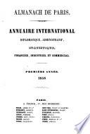 Almanach de Paris