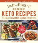 Fix-It and Forget-It Big Book of Keto Recipes Book