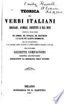 Teorica dei verbi italiani