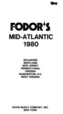 Fodor s Mid Atlantic