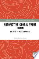 Automotive Global Value Chain