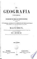 La Geograf  a universal      Descripci  n de todas las partes del mundo seg  n un nuevo plan  1