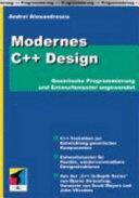 Modernes C   Design