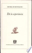 De la experiencia