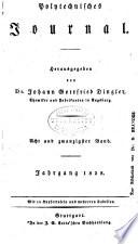 Dinglers polytechnisches journal