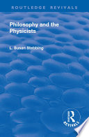 Revival  Philosophy and the Physicists  1937  Book PDF