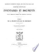 Titres de la maison ducale de Bourbon