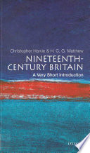 Nineteenth Century Britain  A Very Short Introduction
