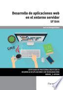 Uf1844 Desarrollo De Aplicaciones Web En El Entorno Servidor