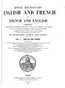 Book Royal Dictionary, English and French and French and English